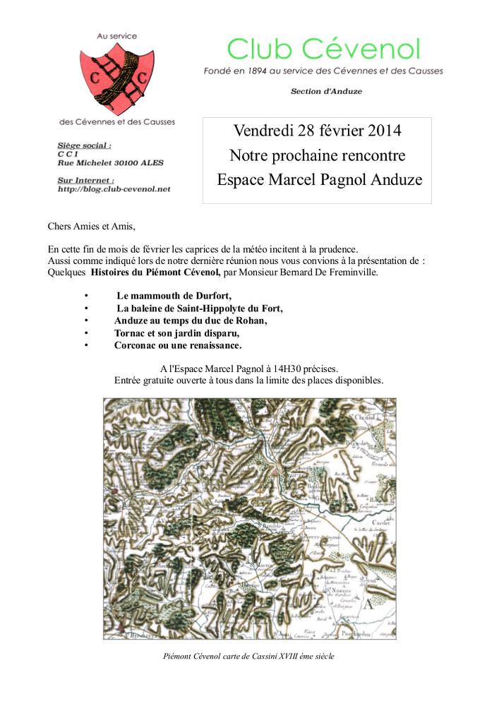 Histoires du Piémont 28 02 2014