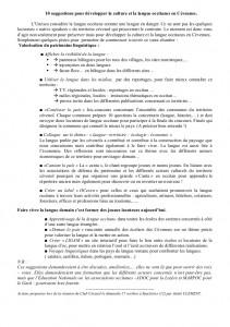 A la suite de la Commission d'Action du 27.10.13